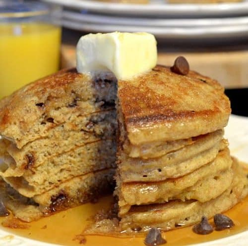 Whole Wheat Buttermilk Pancakes Recipe from Platter Talk