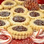 Spitzbuben Jam Sandwich Holiday Cookies