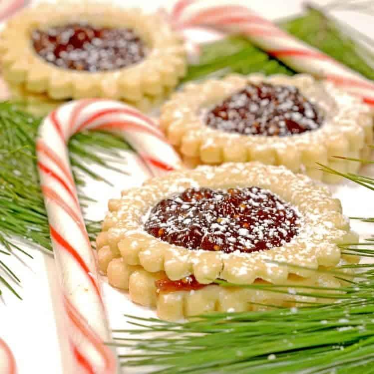 Spitzbuben Jam Sandwich Holiday Cookies Recipe from Platter Talk