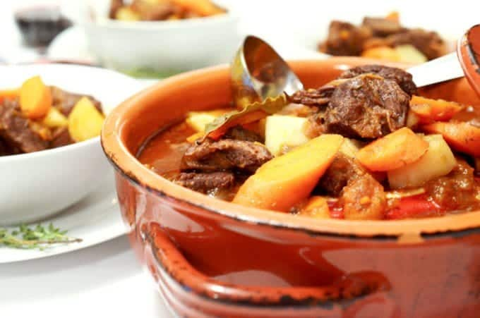 Braised Beef Stew with Potatoes and Carrots Recipe from Platter Talk