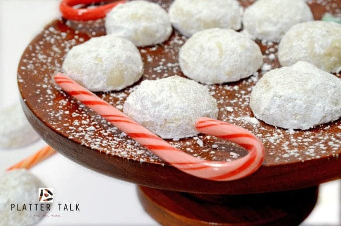 Snowball Christmas Cookies Recipe and Video - Platter Talk