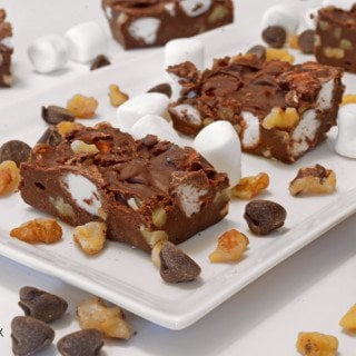 Rocky Road Fudge Recipe on Platter Talk
