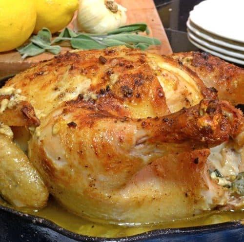 Chicken in Milk Recipe on Platter Talk