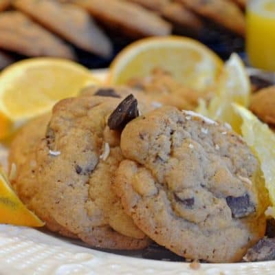 Orange Chocolate Chunk Dream Cookies