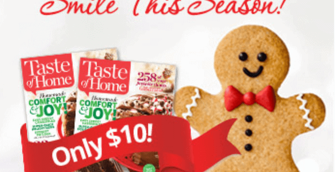 Food and Recipe Magazines Make Great Stocking Stuffers