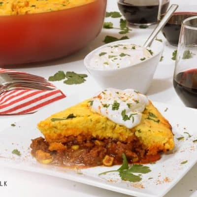 Cornbread Chili Pie Recipe