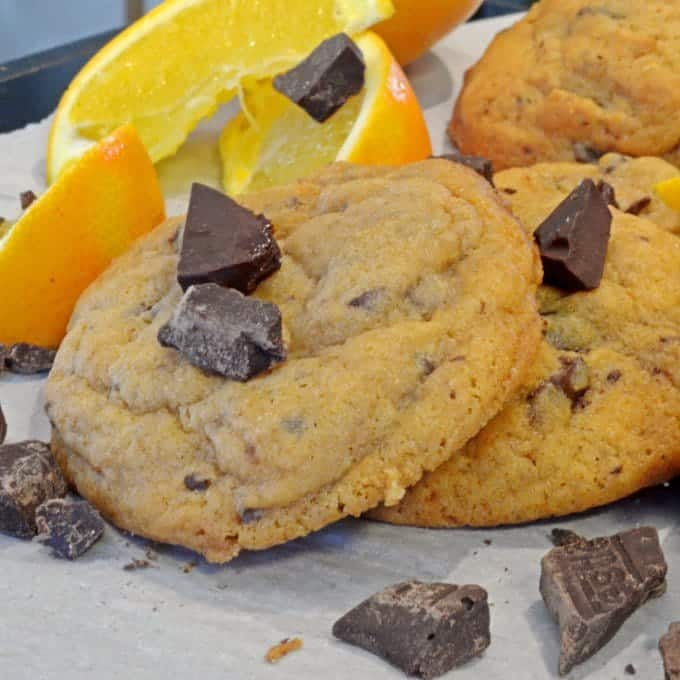 Orange Chocolate Chunk Dream Cookies