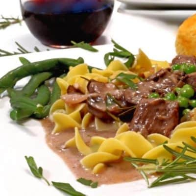 Slow Cooker Rosemary Beef Tips Recipe