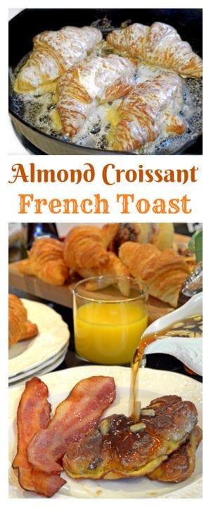 Almond Croissant French Toast gives new life to a timeless breakfast classic. Simple, elegant and delicious, taste this new version of a breakfast favorite.