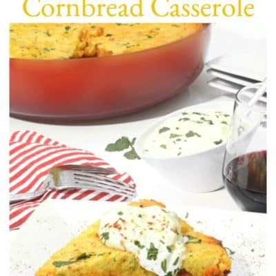 Cornbread Casserole with Chili