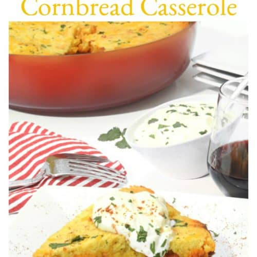 Chili Cornbread Casserole is a Jiffy Cornbread Recipe.