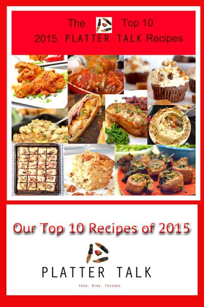 The Top 10 Platter Talk Reciopes of 2015