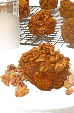 Pumpkin Chia Muffins Recipe from Platter Talk