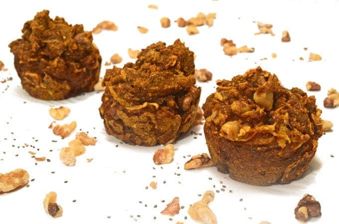 Pumpkin Chia Muffins Recipe from Platter Talk