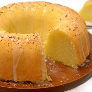 Lemon Soda Pound Cake from Platter Talk