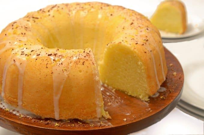 Lemon Soda Pound Cake Recipe Easy Homemade Cake From Scratch