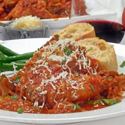 Slow Cooker Chicken Cacciatore Recipe from Platter Talk