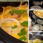 steps to make crockpot scalloped potatoes.