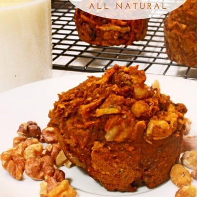 Pumpkin Chia Muffins Recipe (All Natural)