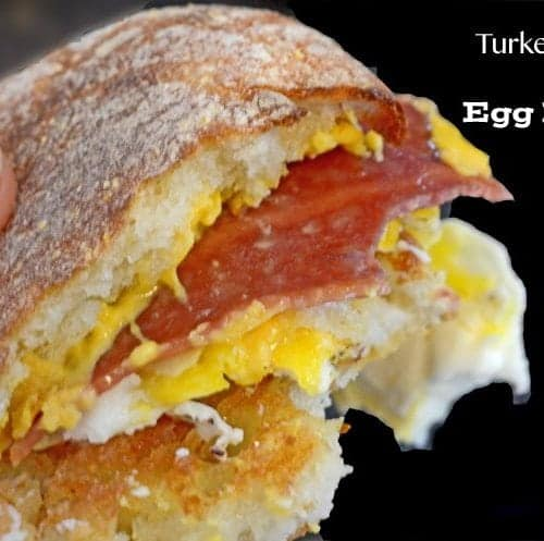 Turkey Bacon Egg Muffins from Platter Talk