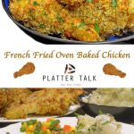 French Fried Onion Ring Baked Chicken Recipe from Platter Talk
