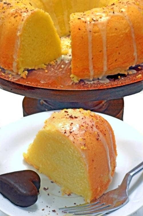 Lemon Soda Pound Cake from Platter Talk