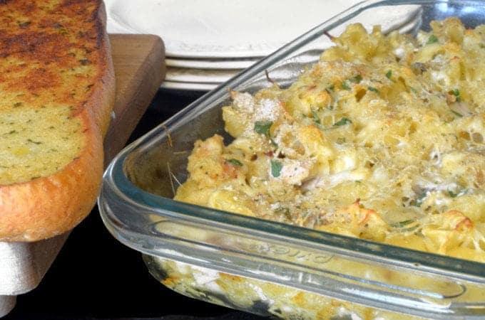 Crispy Chicken Leftovers & Shells Casserole Leftovers Recipe