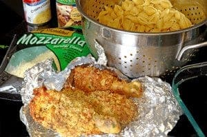 Crispy Chicken Leftovers & Shells Casserole Recipe