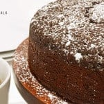 Chocolate & Whiskey Cake Recipe from Platter Talk