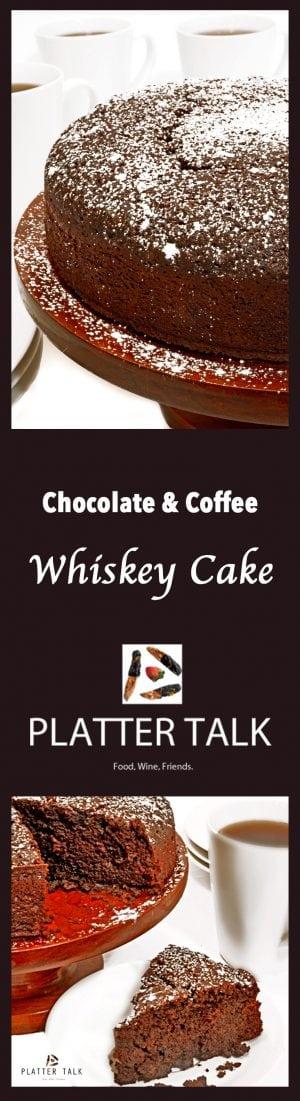 Chocolate & Coffee Whiskey Cake