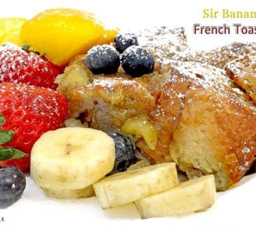 Sir Bananas™ French Toast Bake Recipe