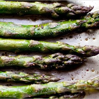 Asparagus on Platter Talk