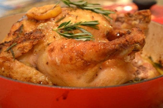 Rosemary Lemon Chicken Recipe from Platter Talk