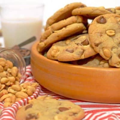 Salted Peanut Chocolate Chip Cookies Recipe