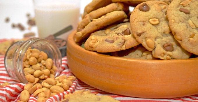Salted Peanut Chocolate Chip Cookies Recipe