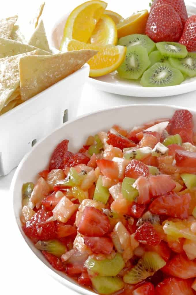 Don't miss this recipe for Fruit Salsa and Cinnamon Chips!