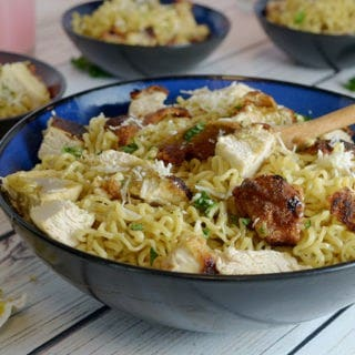 Crispy Chicken Ramen Noodles Recipe from Platter Talk