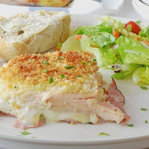 Ranch Style Chicken Cordon Bleu Casserole Recipe by Platter Talk