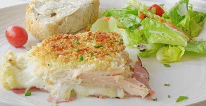 Ranch Style Chicken Cordon Bleu Casserole