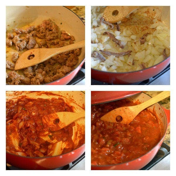 Spaghetti Pie Casserole with Homemade Spaghetti Sauce Recipe from Platter Talk