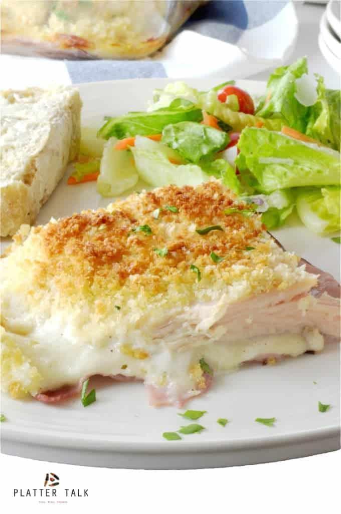 Chicken Cordon Bleu Casserole Recipe by Platter Talk