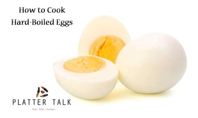 close up of hard boiled eggs