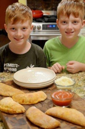 Easy Calzones Recipe from Platter Talk
