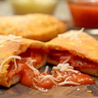 Easy Calzones Using Biscuit Dough