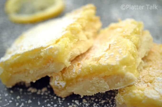 Lemon Recipes from Platter Talk