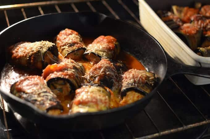 Grilled Eggplant Involtini Recipe from Platter Talk