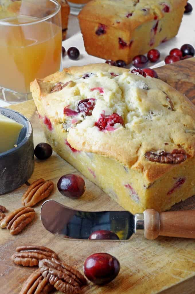 Cranberry Nut Bread Recipe from Platter Talk
