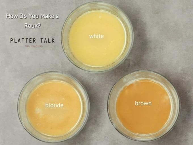 Learn how to make a roux from Platterr Talk.