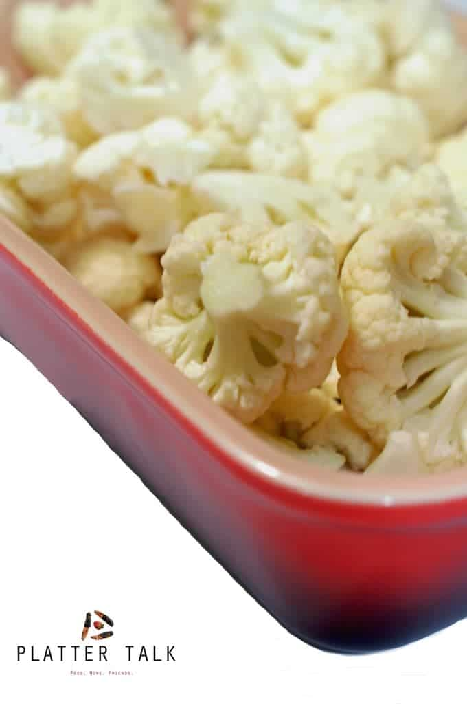 Cauliflower gratin is a flavorful cauliflower recipe.