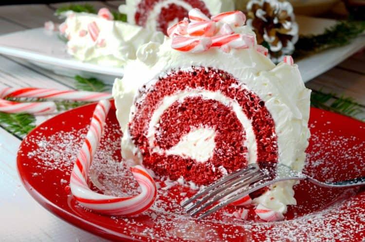 Red Velvet Cake Roll Amp White Chocolate Peppermint Butter